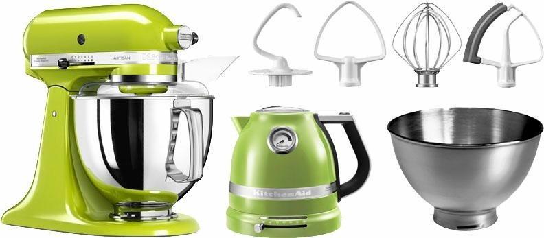 KitchenAid® Küchenmaschine Artisan mit Gratiszubehör im Wert von ca. 307,-UVP in apfelgrün