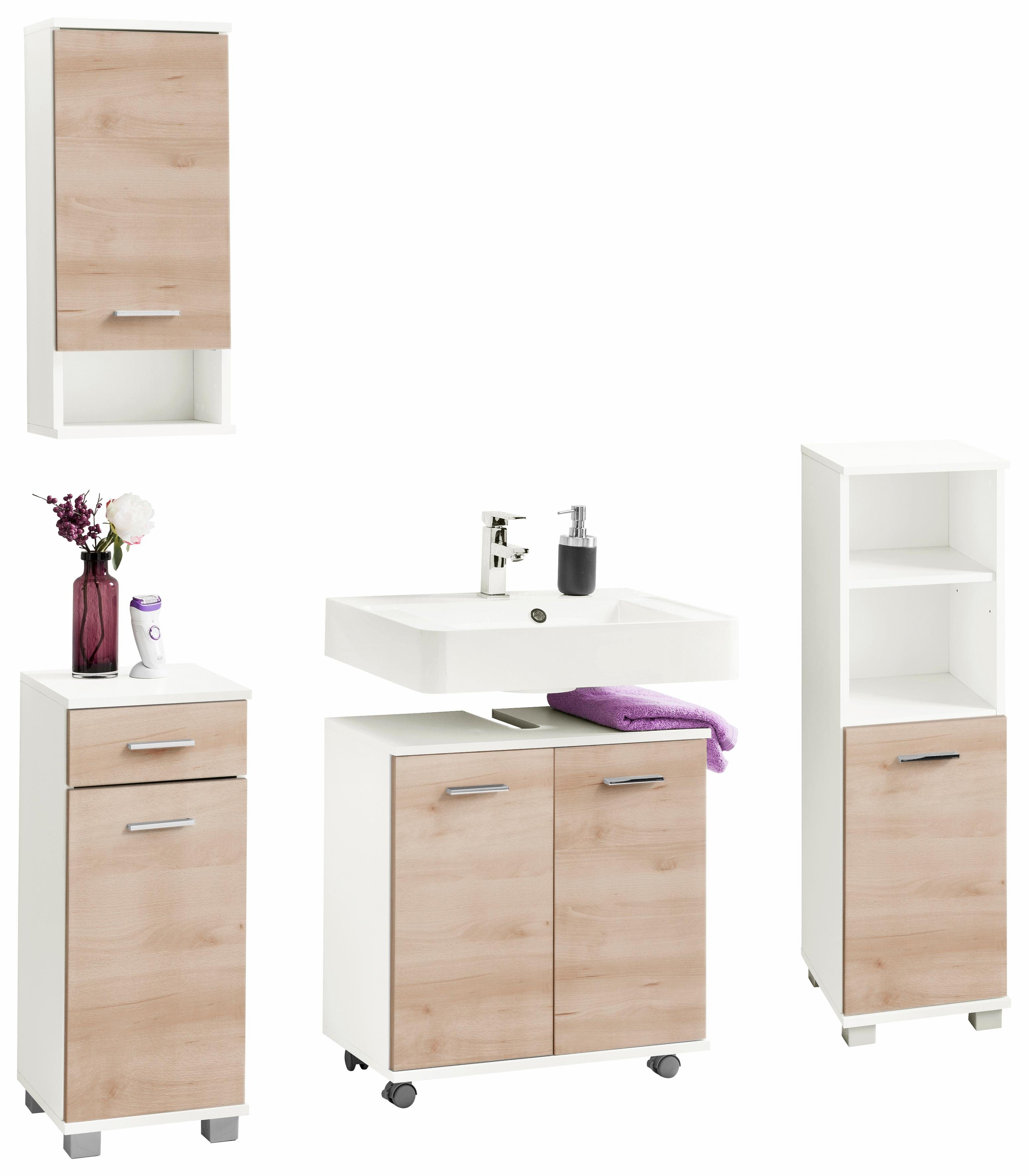 48 sparen badm bel set vigo ab 129 99 cherry m bel otto. Black Bedroom Furniture Sets. Home Design Ideas