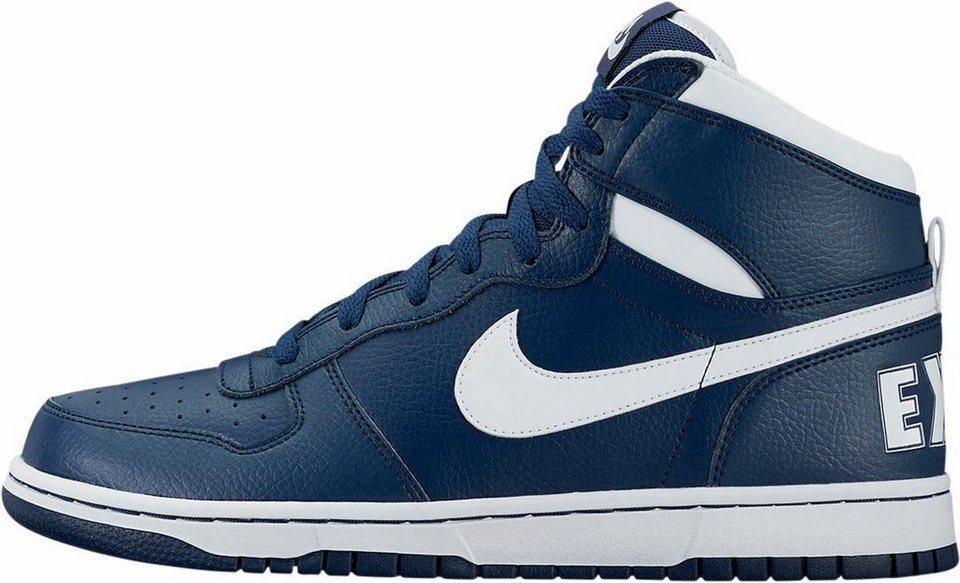 Nike »Big Nike High« Sneaker in blau-weiß