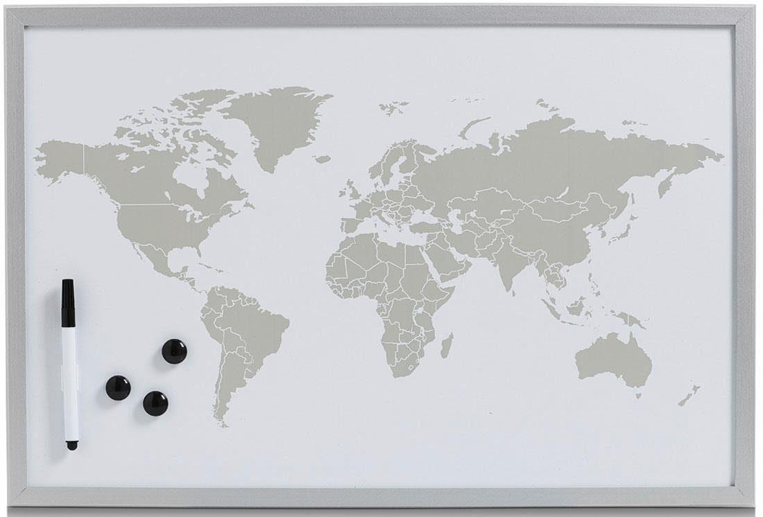 Home affaire Magnet-/Schreibtafel »World«