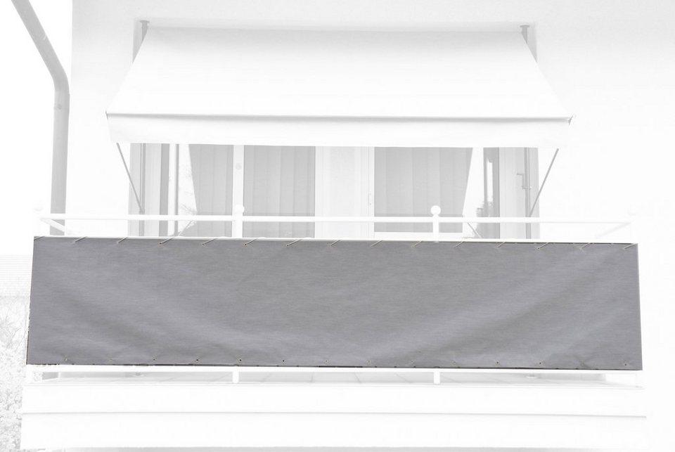 angerer freizeitm bel balkonsichtschutz meterware h 75 cm granitgrau online kaufen otto. Black Bedroom Furniture Sets. Home Design Ideas