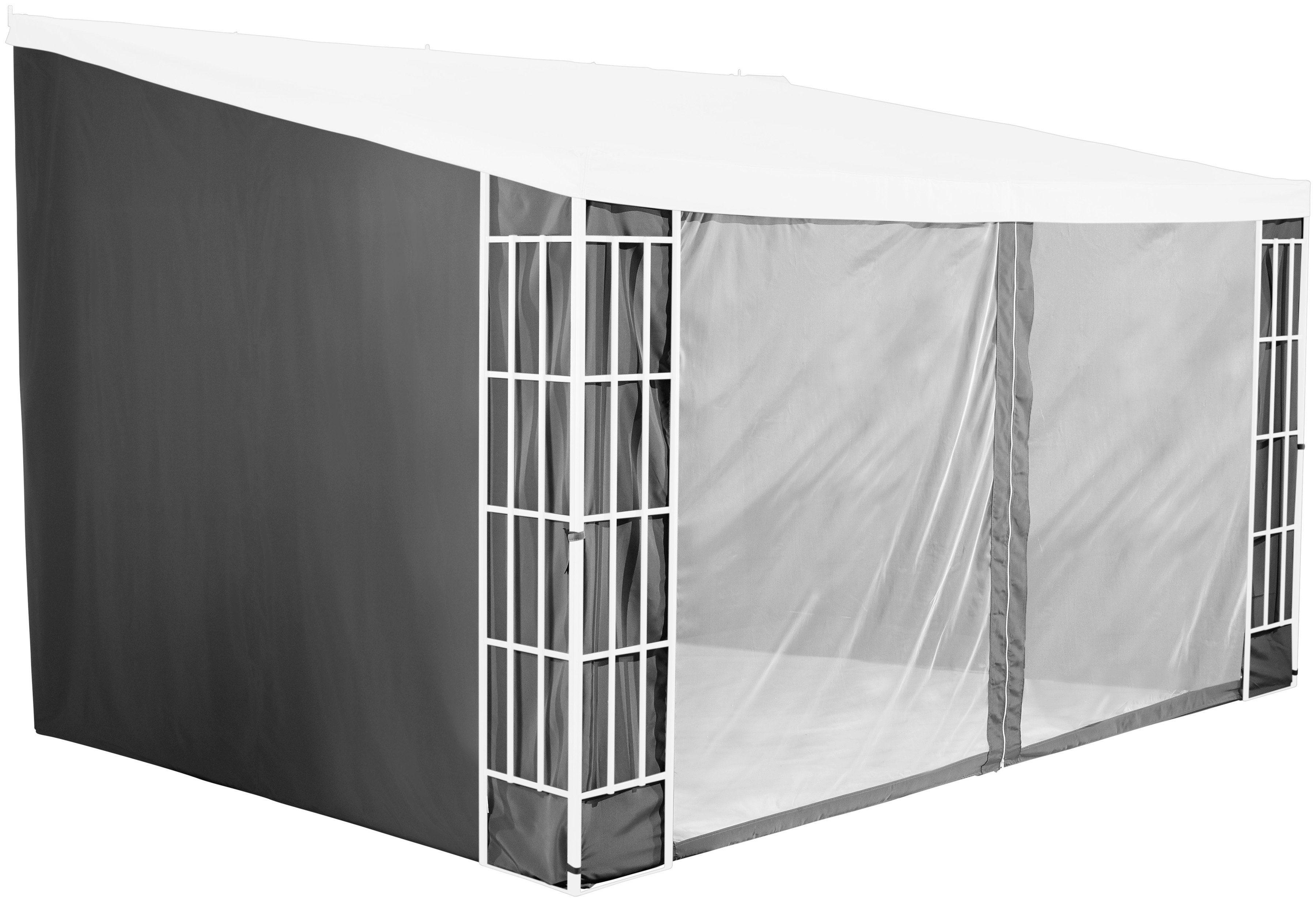 KONIFERA Seitenteile für Pavillon 3x4 m