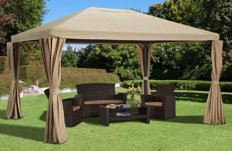 konifera pavillon mit seitenteilen murano versch gr en online kaufen otto. Black Bedroom Furniture Sets. Home Design Ideas