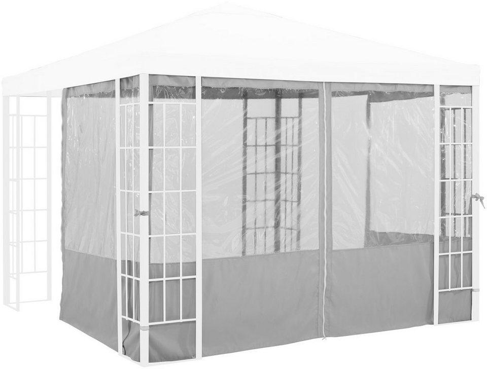 seitenteile f r pavillon aluminium kaufen otto. Black Bedroom Furniture Sets. Home Design Ideas