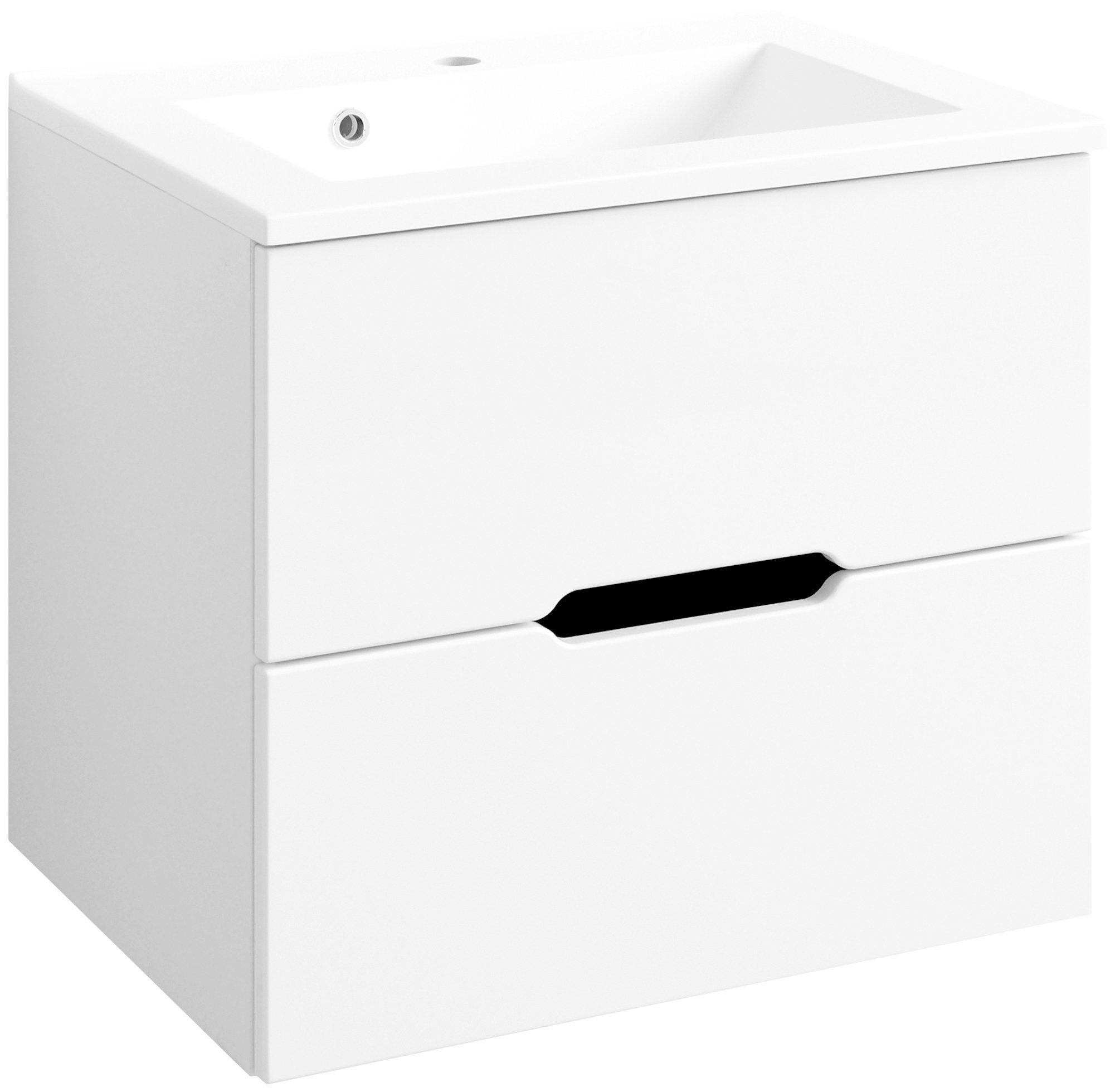 HELD MÖBEL Waschtisch »Belluno «, Breite 60 cm, (2-tlg.)