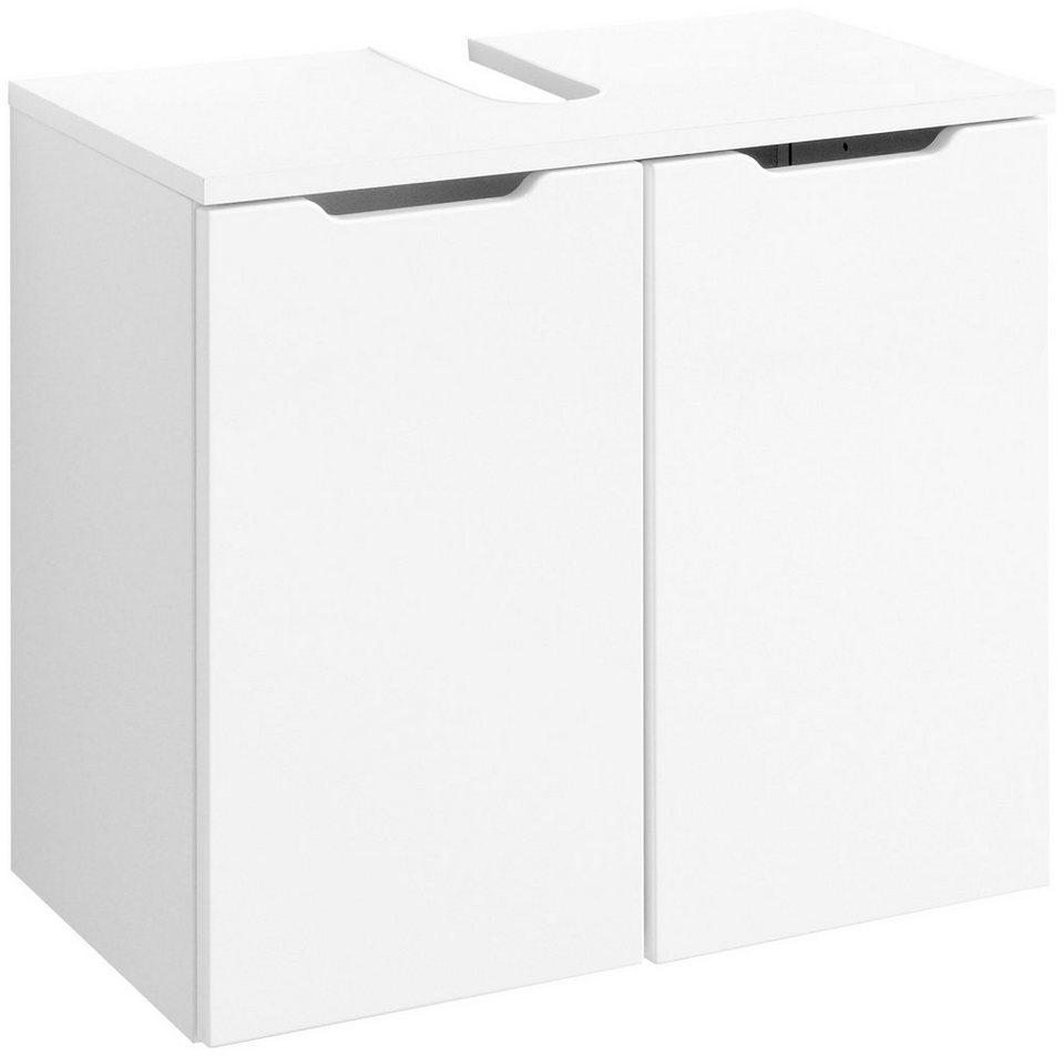 Waschbeckenunterschrank »Belluno«, Breite 60 cm in weiß