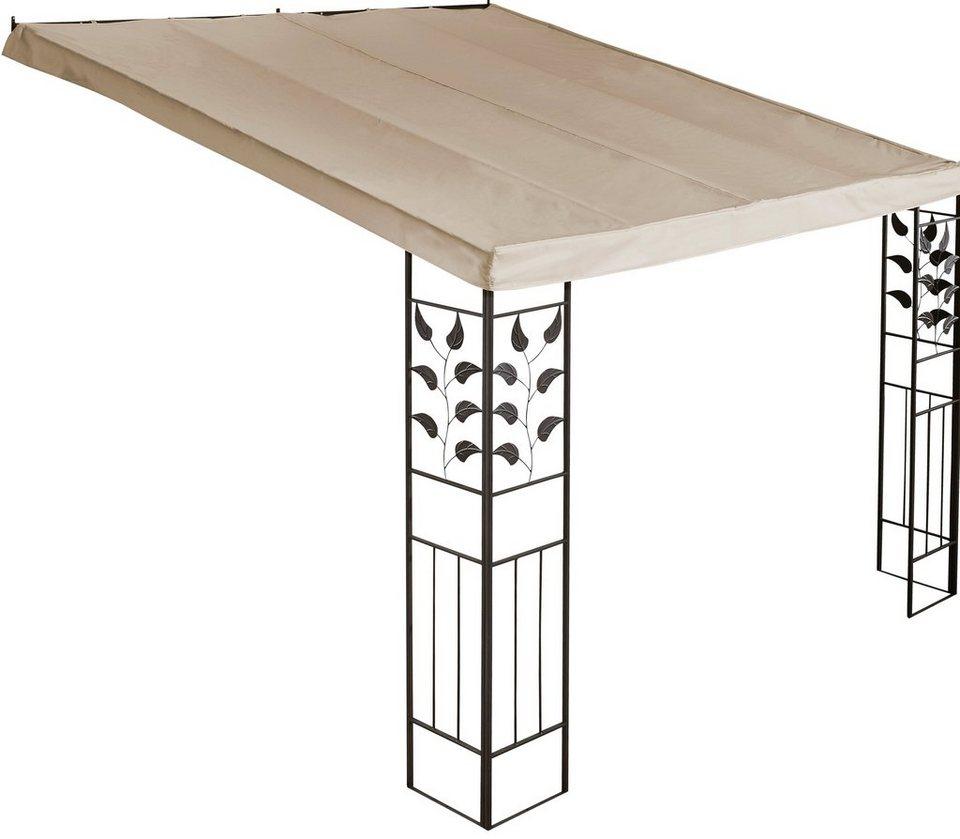 Ersatzdach für Anbaupergola »Blätter«, sandfarben, in 2 Größen