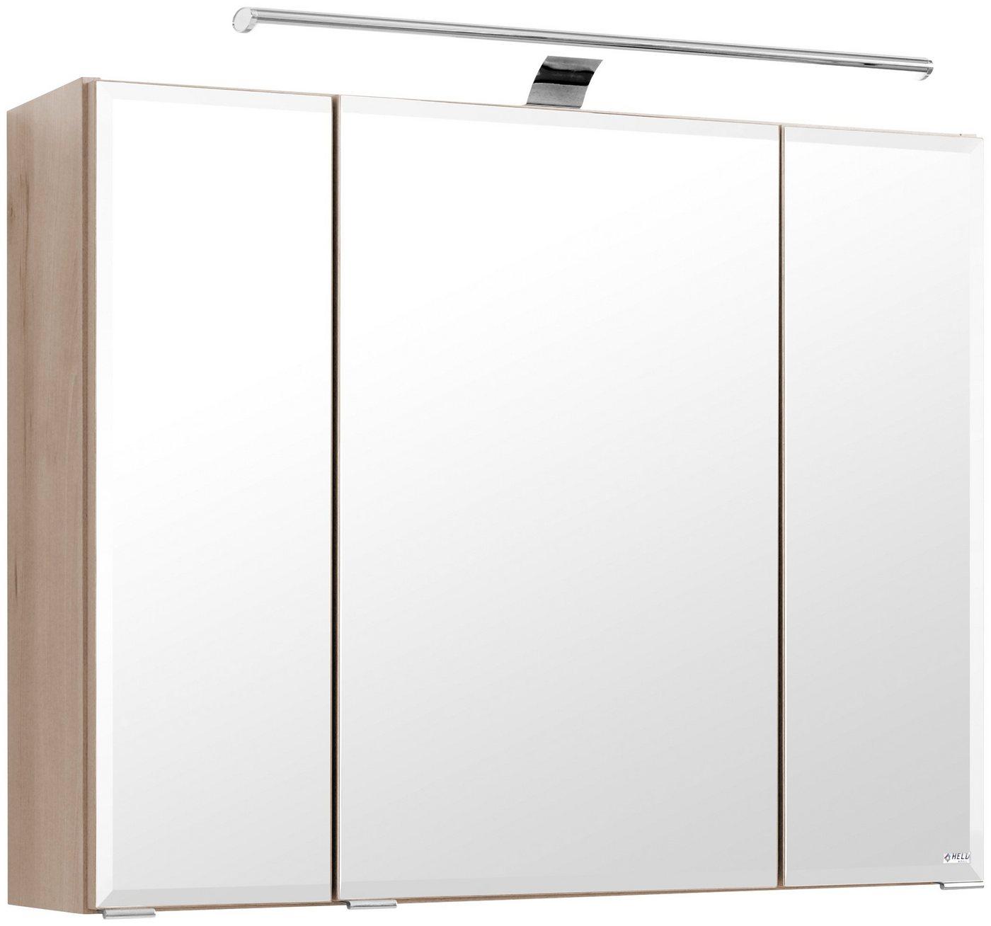 spiegelschrank 80 cm breit preisvergleiche. Black Bedroom Furniture Sets. Home Design Ideas