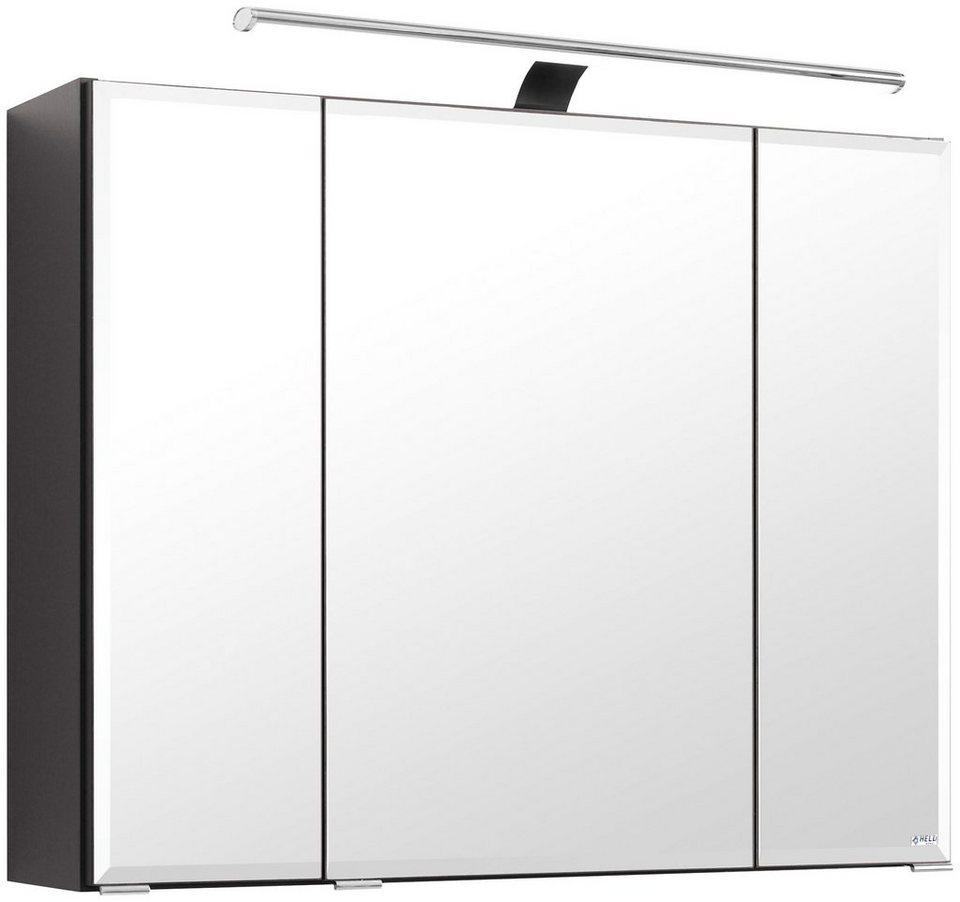 Spiegelschrank »Belluno«, Breite 80 cm in graphitfarben