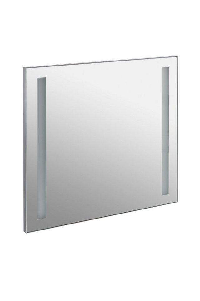 Spiegel / Badspiegel »Irene« Breite 60 cm, mit Beleuchtung in alufarben