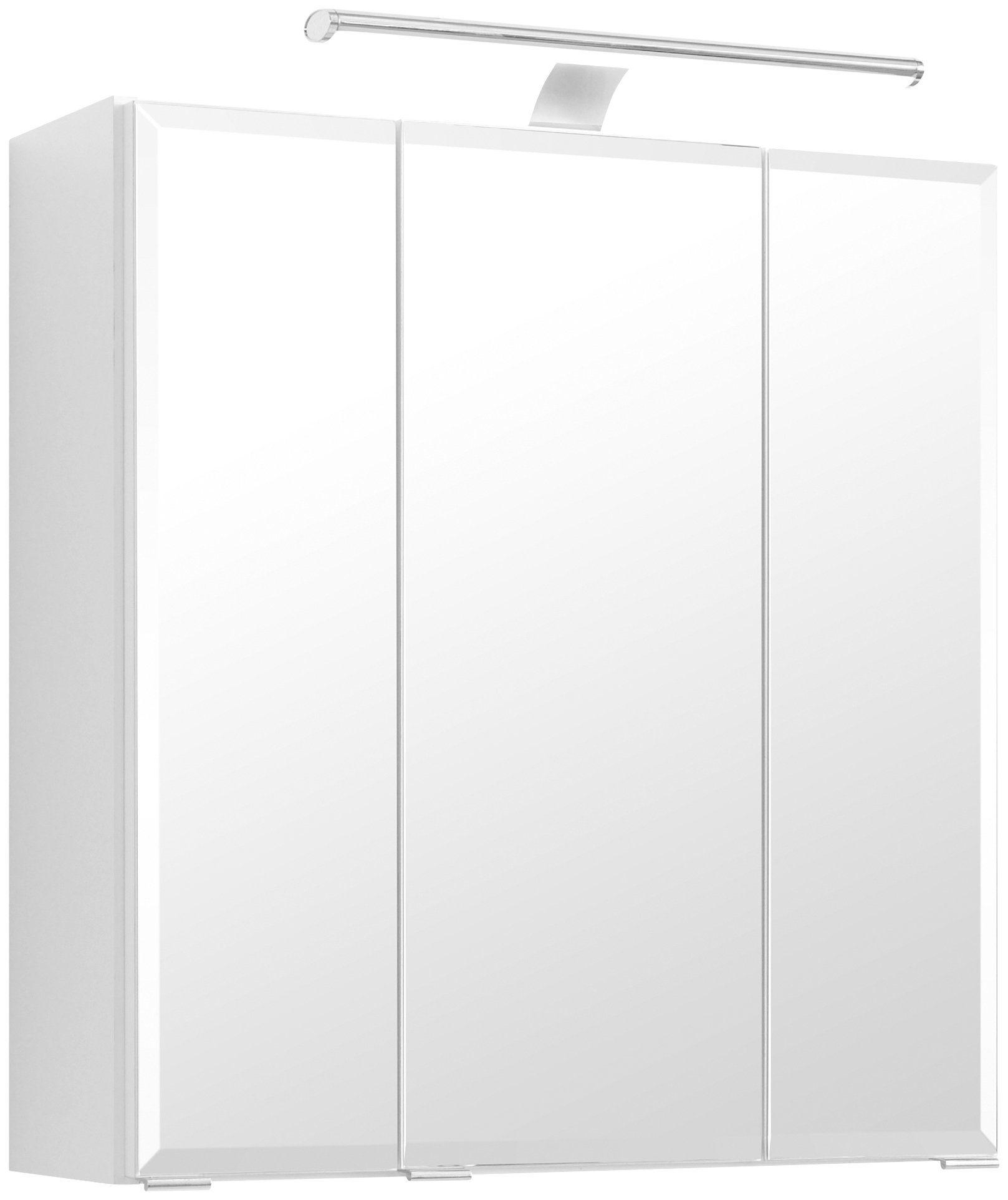 Held Möbel Spiegelschrank »Belluno« Breite 60 cm, mit LED-Beleuchtung