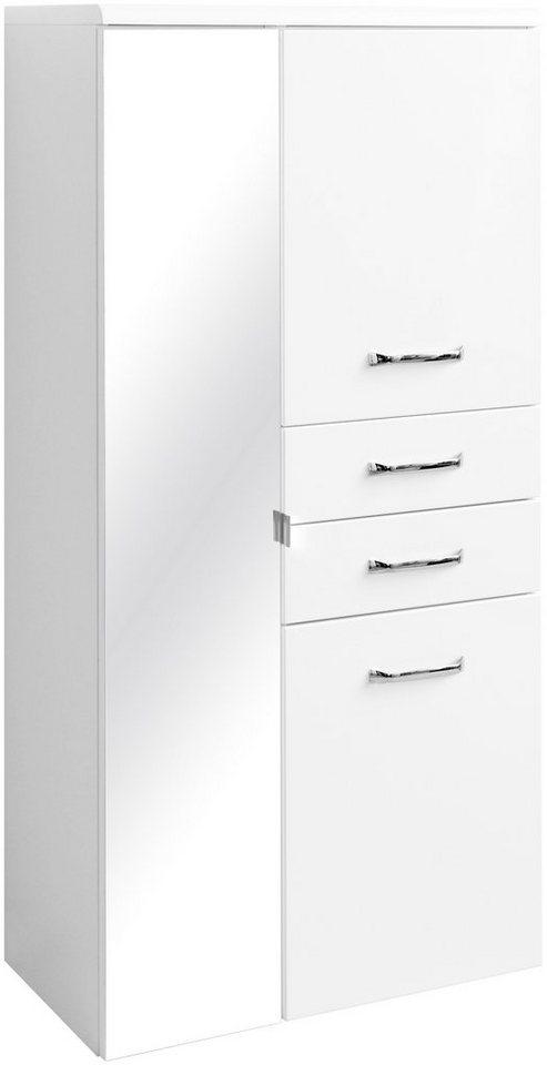 Held Möbel Midischrank »Fontana«, Breite 65 cm in weiß