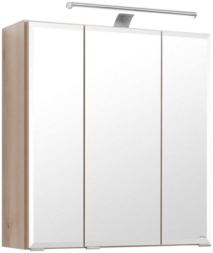 Spiegelschrank »Belluno« Breite 60 cm, mit LED-Beleuchtung in buchefarben