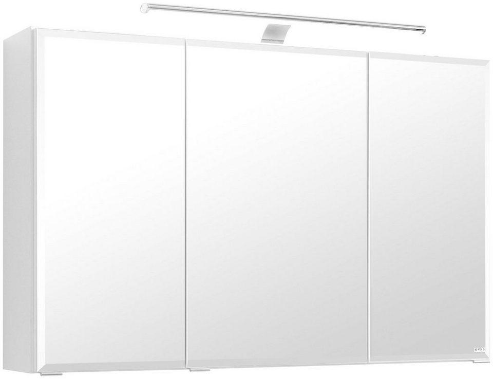 held m bel spiegelschrank fontana breite 100 cm mit led beleuchtung online kaufen otto. Black Bedroom Furniture Sets. Home Design Ideas