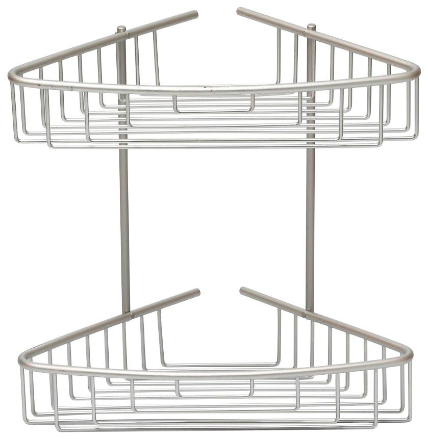 Eckregal »Duschregal aus Aluminium « in silber