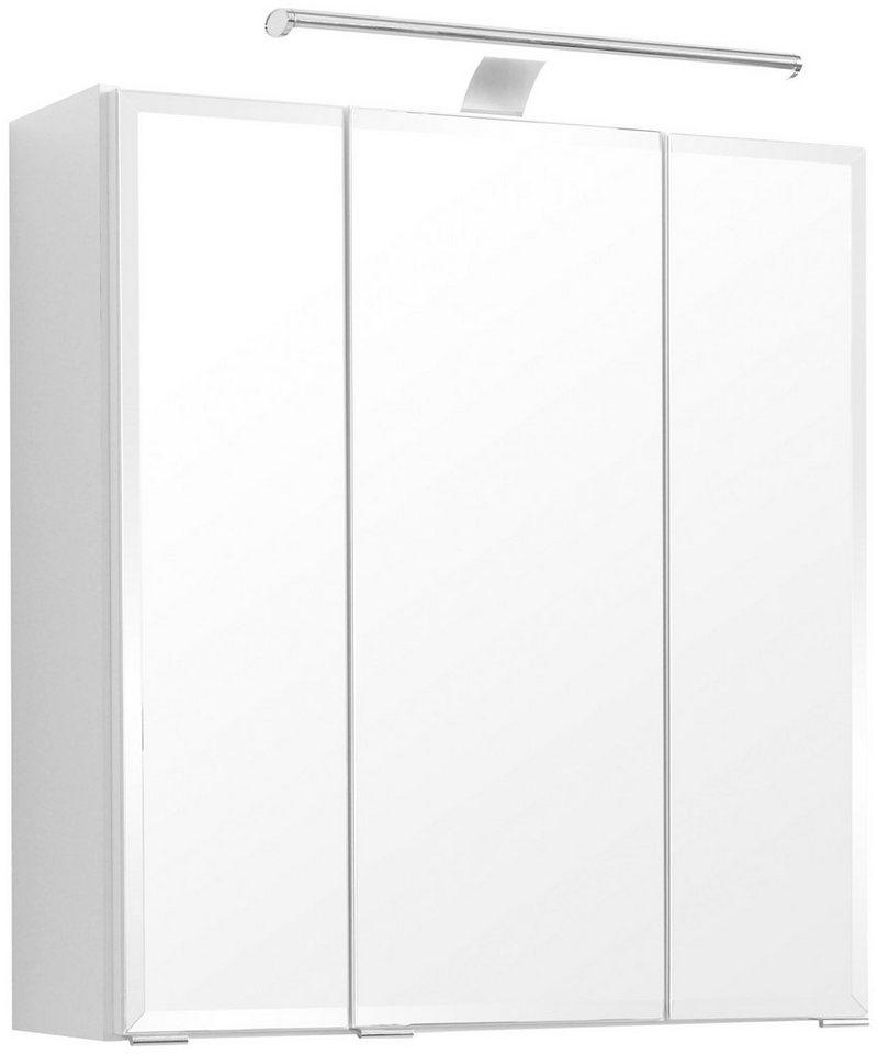 held m bel spiegelschrank fontana breite 60 cm mit led beleuchtung online kaufen otto. Black Bedroom Furniture Sets. Home Design Ideas