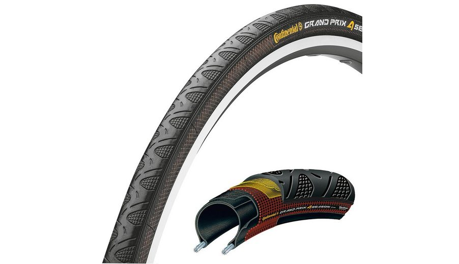 "Continental Fahrradreifen »Grand Prix 4-Seasons 28"" faltbar«"