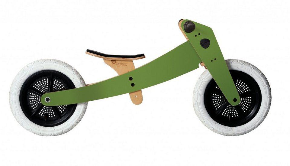 Wishbone Kinderfahrzeug »3 in 1 Design Bike« in oliv