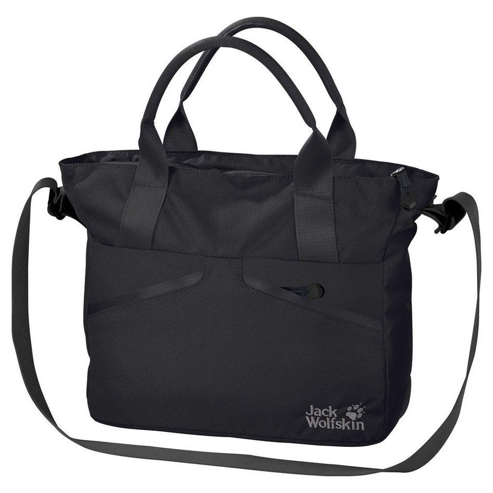 jack wolfskin damen valparaiso bag umh ngetasche black one size botschaft. Black Bedroom Furniture Sets. Home Design Ideas