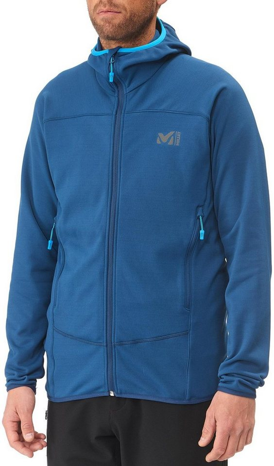 Millet Pullover »Technostretch Hoodie Men« in blau