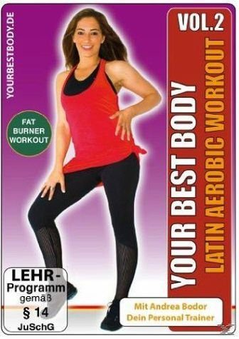 DVD »Your Best Body - Latin Aerobic Workout, Vol. 2«