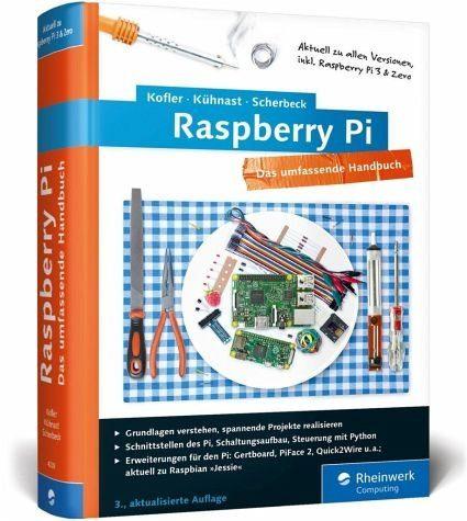 Gebundenes Buch »Raspberry Pi, m. CD-ROM«