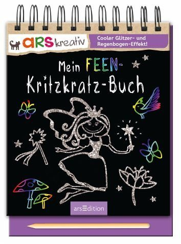 Gebundenes Buch »Mein Feen-Kritzkratz-Buch«