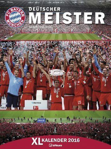 Kalender »FC Bayern München XL Kalender 2017«
