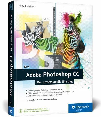 Broschiertes Buch »Adobe Photoshop CC«