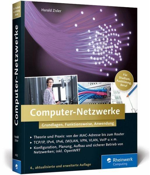 Broschiertes Buch »Computer-Netzwerke«