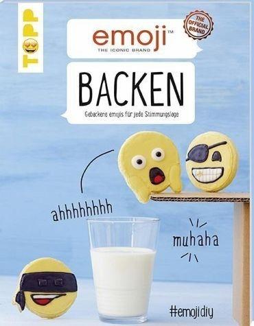 Broschiertes Buch »Emoji Backen«