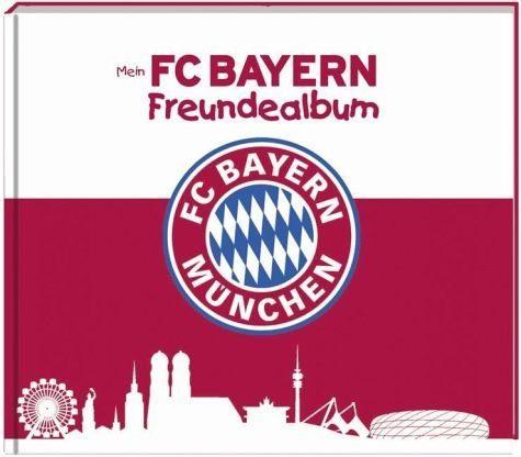 Gebundenes Buch »Mein FC Bayern Freundealbum 2016/2017«