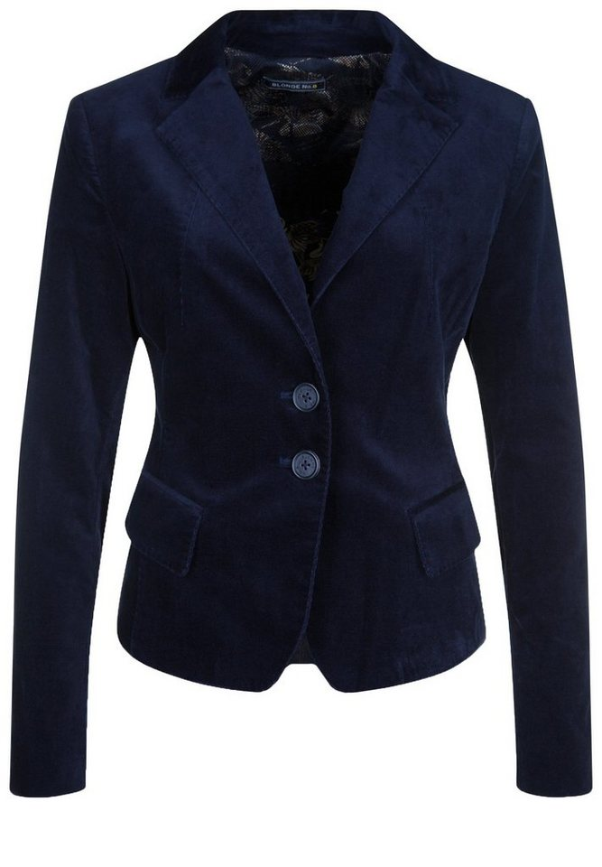 Blonde No.8 Jersey-Blazer »NIZZA VELVET« in navy