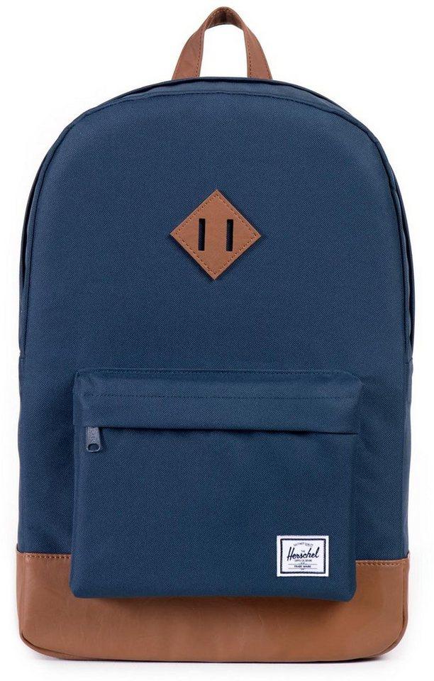 Herschel Rucksack mit Laptopfach, »Heritage Backpack, Navy« in navy