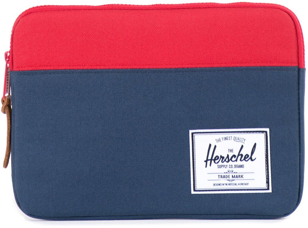 Herschel Tablet Tasche, »Anchor Sleeve, iPad Air, Navy/Red«