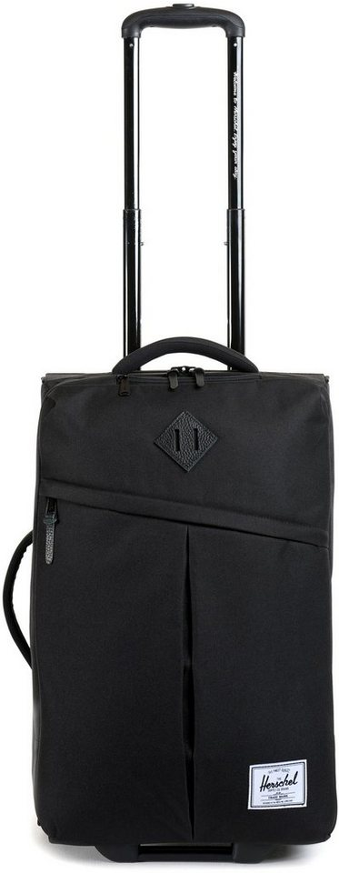 Herschel Weichgepäcktrolley mit 2 Rollen, »Campaign Luggage« in Black