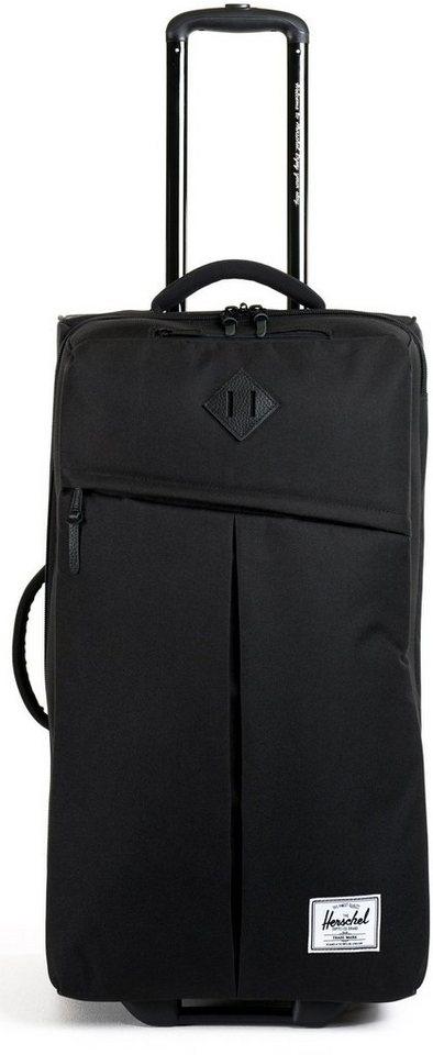 Herschel Weichgepäcktrolley mit 2 Rollen, »Parcel Luggage« in Black