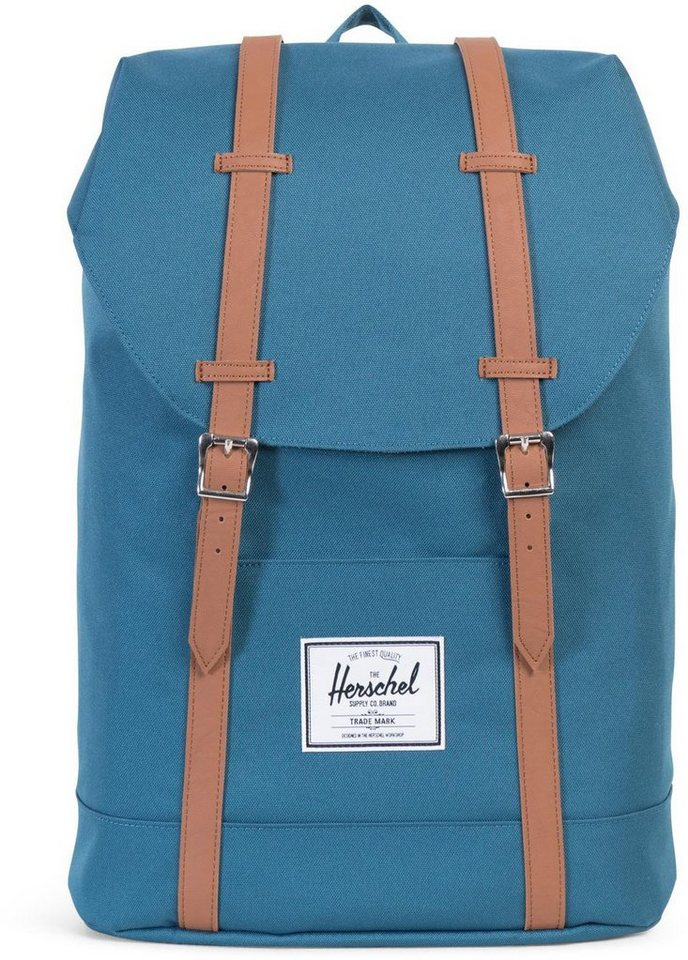 Herschel Rucksack, »Retreat Backpack, Indian Teal« in Indian Teal