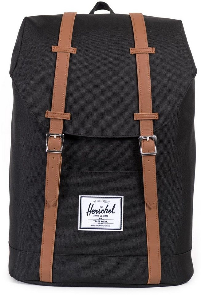 herschel rucksack mit laptopfach retreat backpack. Black Bedroom Furniture Sets. Home Design Ideas