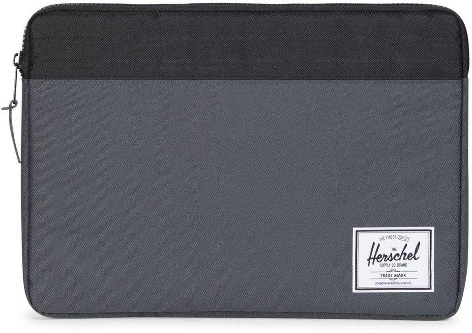 Herschel Notebook Hülle, »Anchor Sleeve, Macbook 15, Macbook Air/Pro, DarkShadow« in Dark Shadow