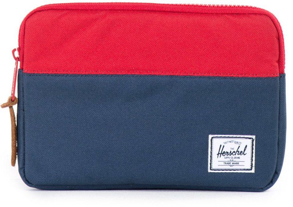 Herschel Tablet Tasche, »Anchor Sleeve, iPad Mini, Navy/Red« in Navy/Red