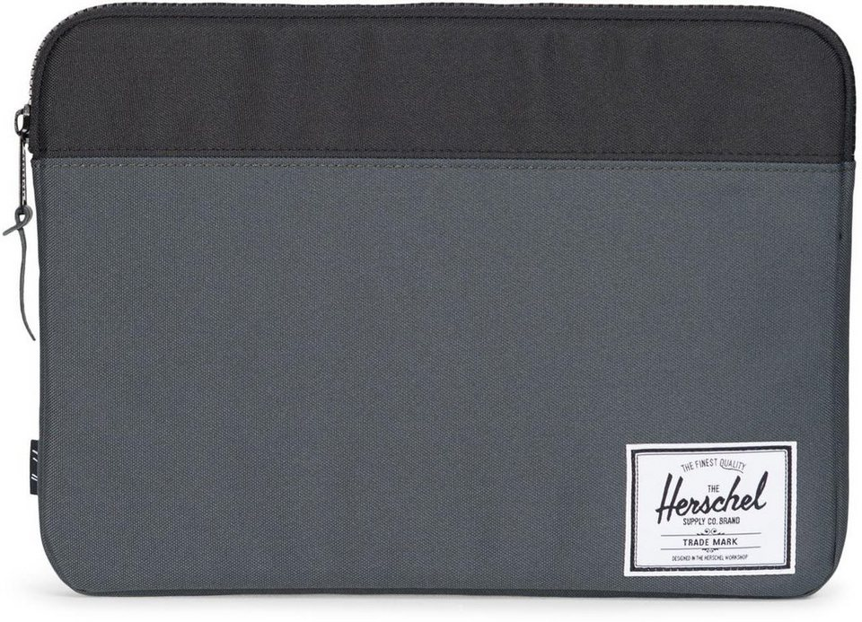 Herschel Notebook Hülle, »Anchor Sleeve, Macbook 13, Macbook Air/Pro, DarkShadow« in Dark Shadow