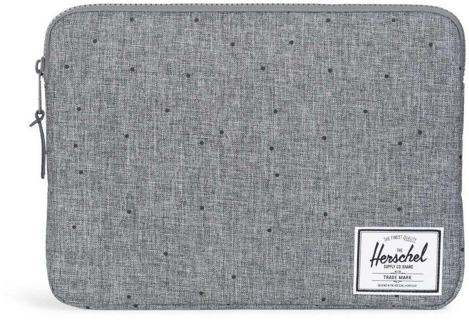 Herschel Notebook Hülle, »Anchor Sleeve, Macbook 13, Macbook Air/Pro, Scattered Raven, Crosshatch« in Scattered Raven