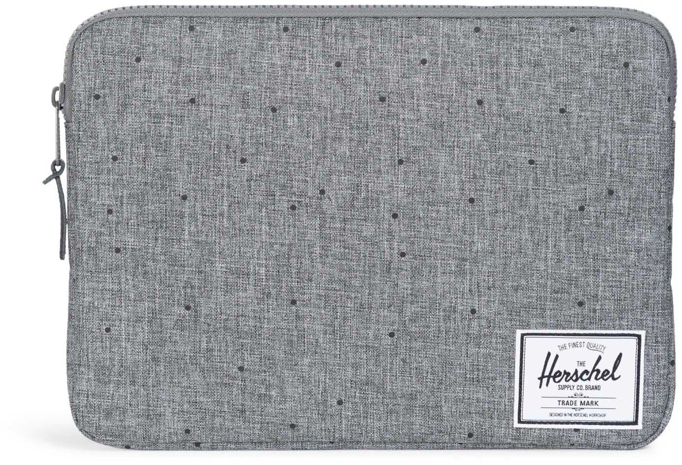 Herschel Notebook Hülle, »Anchor Sleeve, Macbook 13, Macbook Air/Pro, Scattered Raven, Crosshatch«