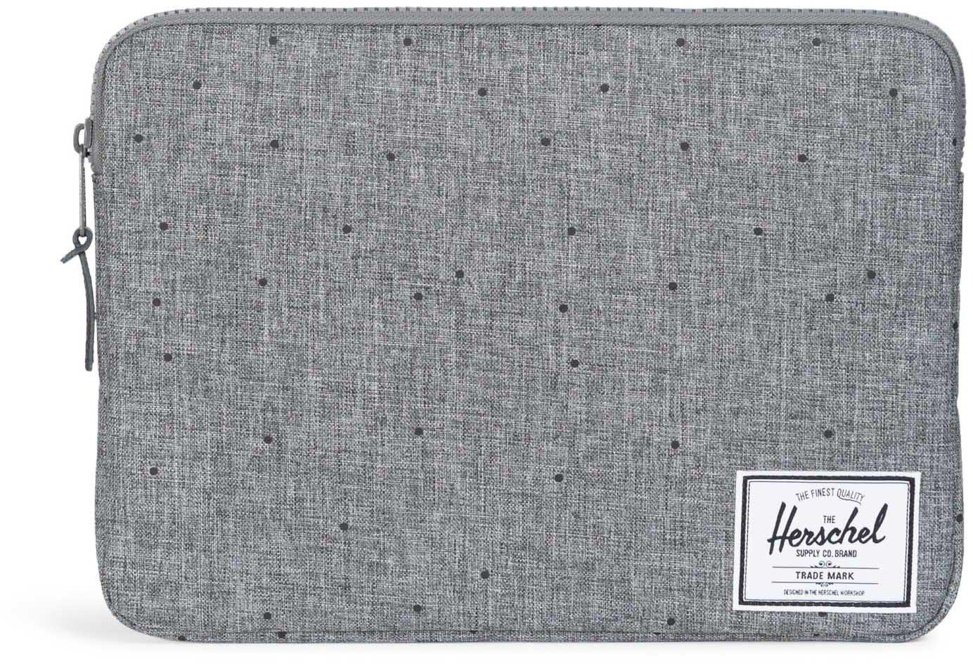 Herschel Notebook Hülle, »Anchor Sleeve, Macbook 13, Macbook Air/Pro, Scattered Raven, Crosshatch«