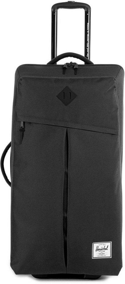Herschel Weichgepäcktrolley mit 2 Rollen, »Parcel XL Luggage« in Black