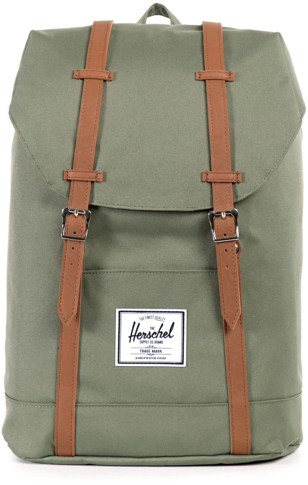 Herschel Rucksack, »Retreat Backpack, Deep Lichen Green«