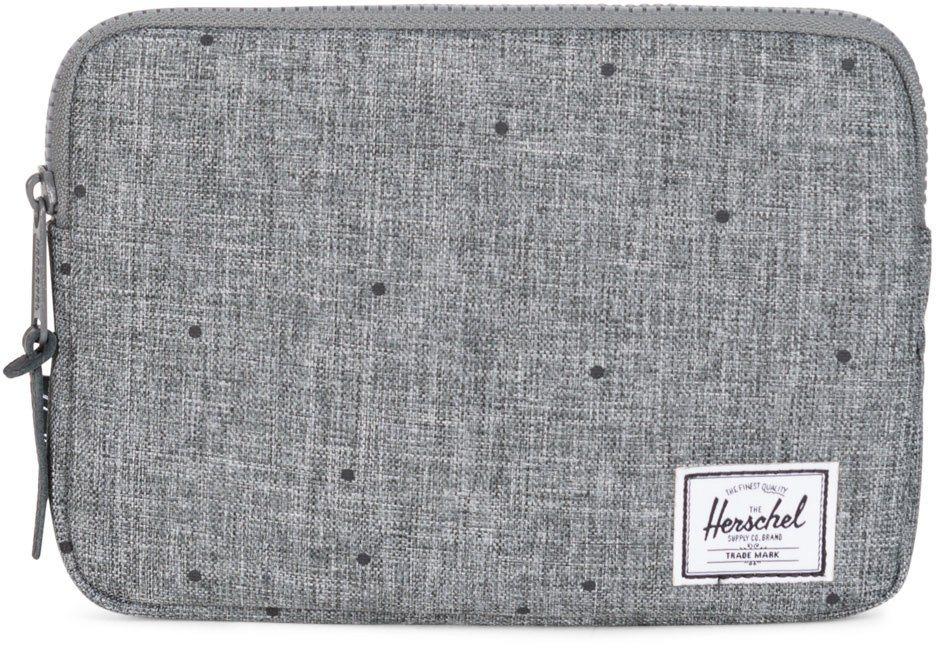 Herschel Tablet Tasche, »Anchor Sleeve, iPad mini, Scattered Raven, Crosshatch« in Scattered Raven