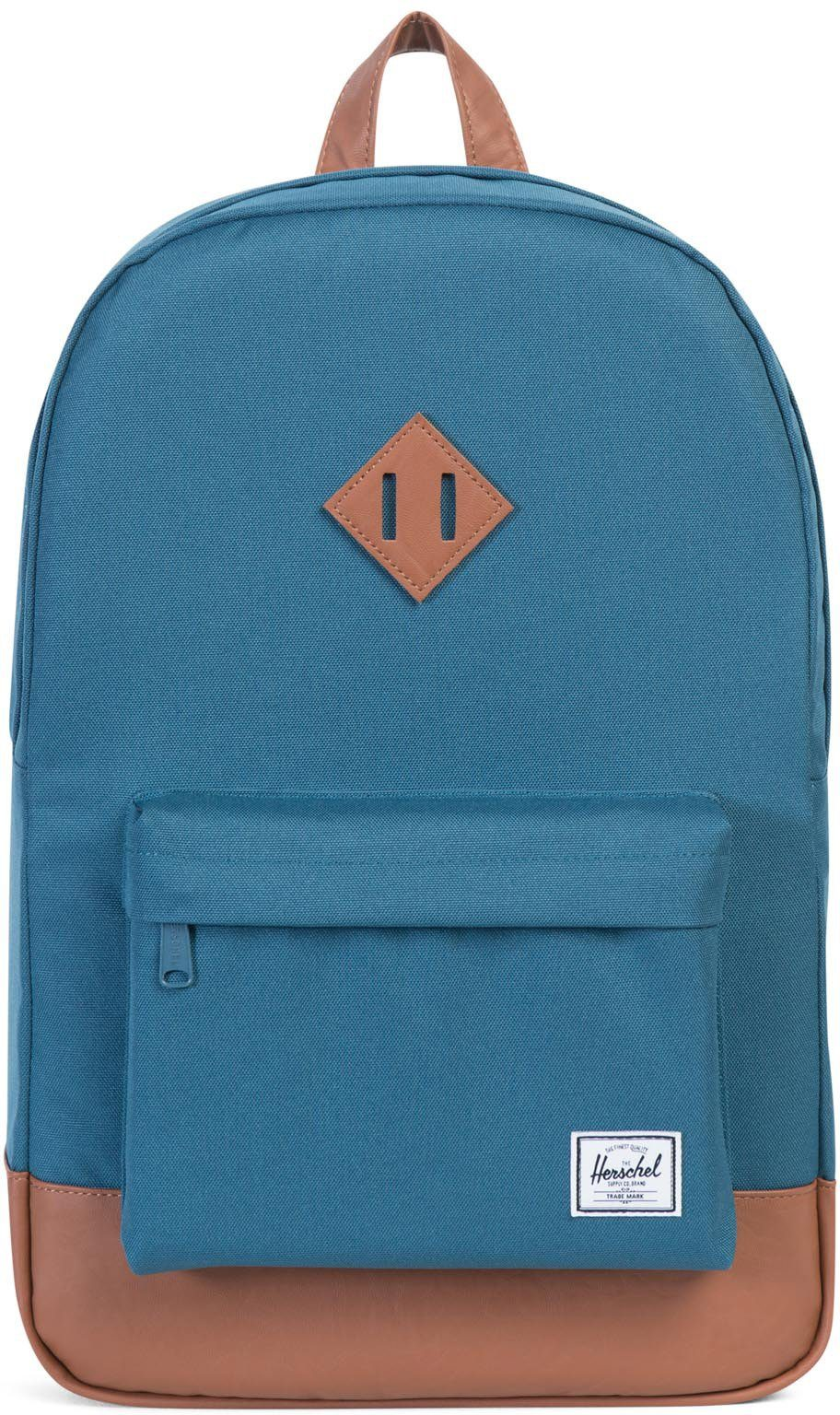 Herschel Rucksack mit Laptopfach, »Heritage Backpack, Indian Teal«