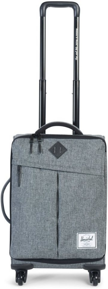 Herschel Weichgepäcktrolley mit 4 Rollen, »Highland Luggage« in Grey